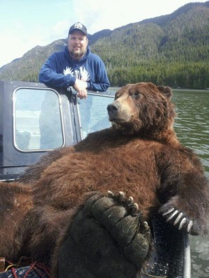 World Record Grizzly Bear
